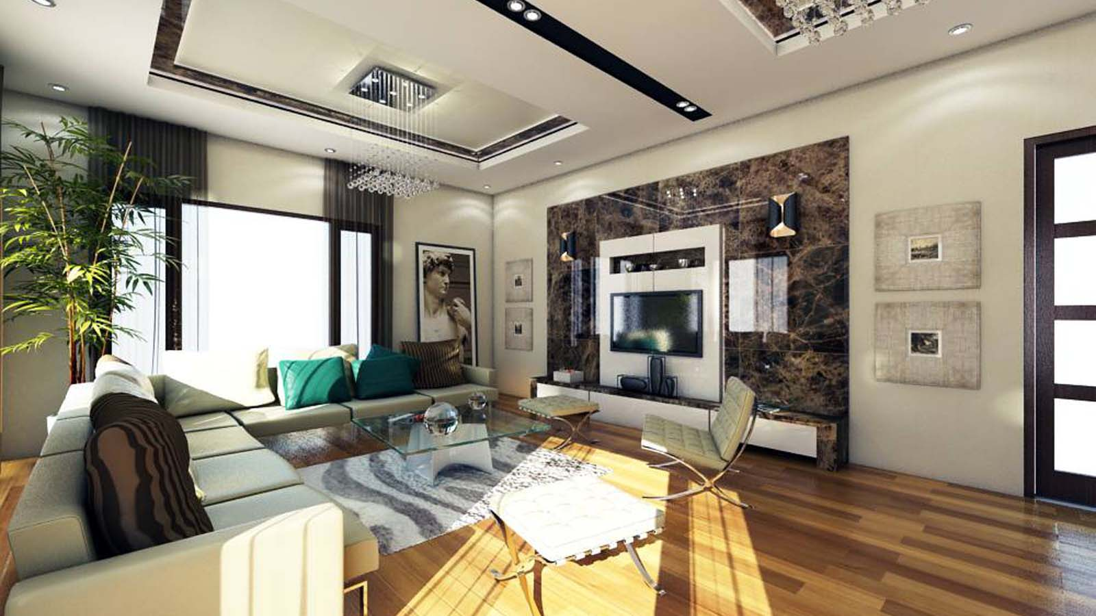 DRAWING ROOM (Interior Design)